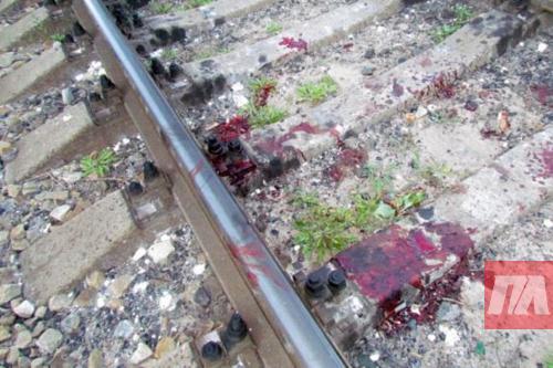 Погибший попал под поезд Киев - Херсон