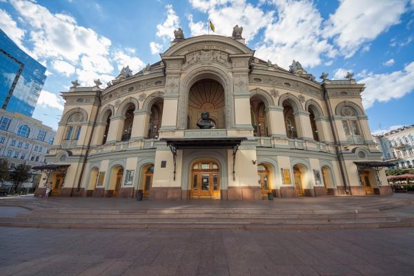 Одной из композиций фонтана станет гимн Украины в желто-голубой гамме цветов