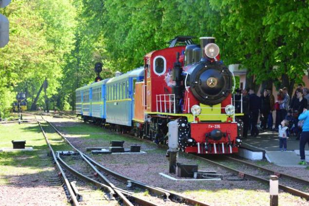 Завтра в Сырецком парке будет работать ретро-поезд