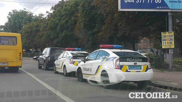 Водителей штрафовали на улице Елены Телиги