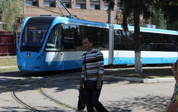 В трамвае есть Wi—Fi