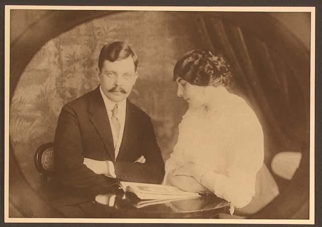 Сергей Панкеев с женой. Фото: wikipedia.org