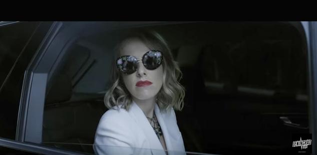 Вышел очень кровавый клип «Ленинграда» про очки Ксении Собчак