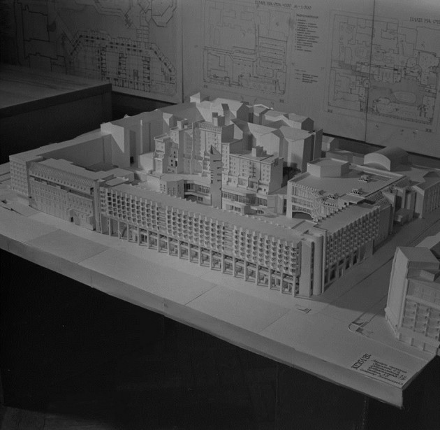 Архитекторы планировали полностью перестроить квартал