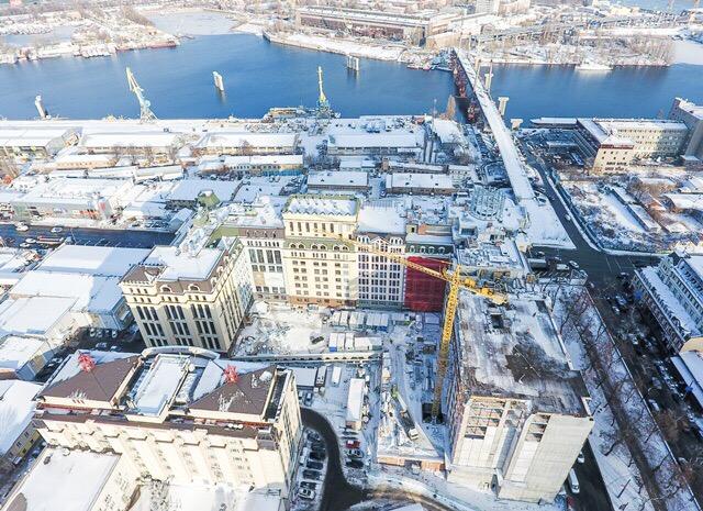 """Первое в Украине здание, построенное по технологиям """"зеленого"""" энергоэффективного строительства, откроется в сентябре 2017 года"""