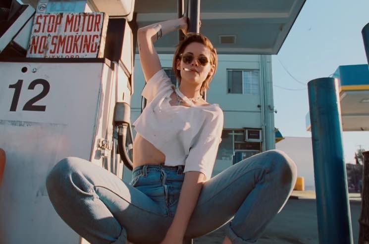 Кристен Стюарт снялась  в клипе The Rolling Stones «Ride 'Em On Down»
