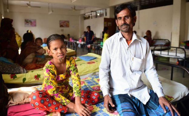 Батько Сахани сподівається, що лікарі допоможуть його доньці