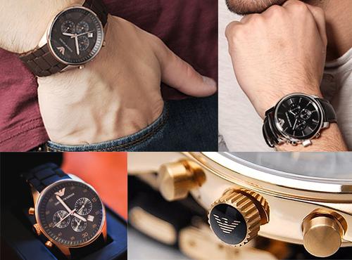 Наручные часы от Armani