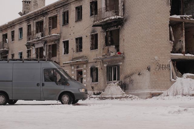 Транспорт, на котором съемочная группа приехала из Литвы, задействован в фильме Фото: Alina Lu. Предоставлено съемочной группой