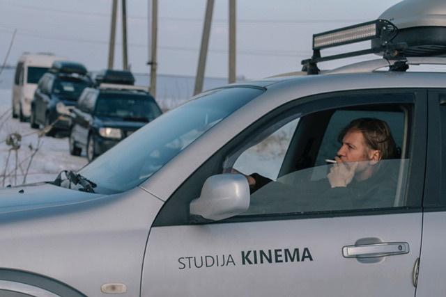 Шарунас Бартас планирует представить фильм на международных кинофестивалях. Фото: Alina Lu.
