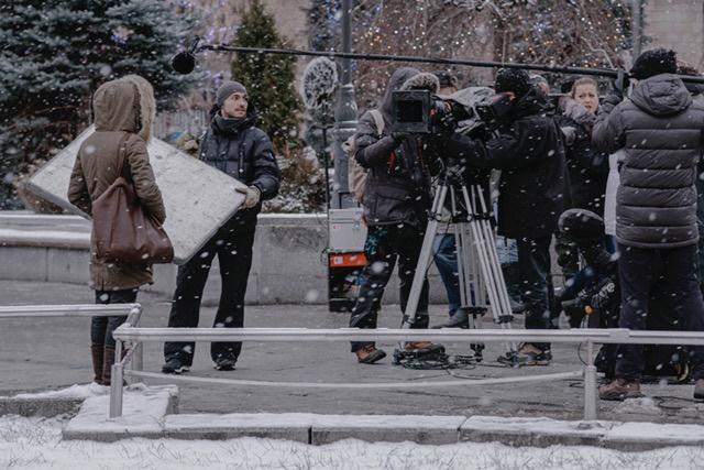 Ванесса Паради уже несколько раз приезжала в Украину на съемки Фото: Alina Lu. Предоставлено съемочной группой