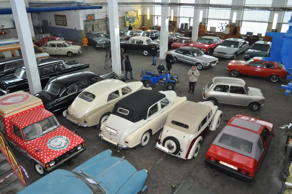 В киевском музее Транспорта пройдет День открытых дверей