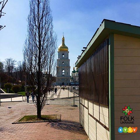 Так будут выглядеть домики праздничного городка. Фото: Folk Ukraine