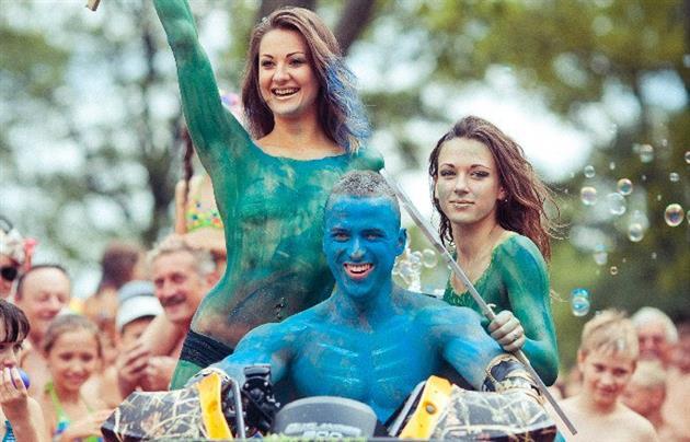 В парке Феофания отметят праздник Нептуна