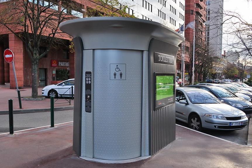 В центре Киева появятся «умные» туалеты