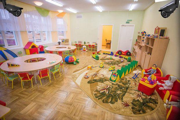 Киевляне смогут следить за детьми в детсаду с помощью камер