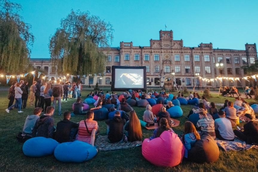 В киевском парке и ботсаду пройдут бесплатные кинопоказы