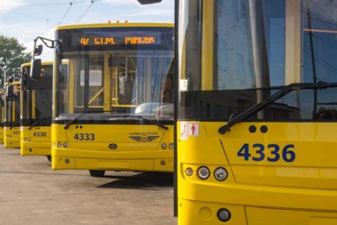 В Киеве пройдет масштабное обновление городского транспорта