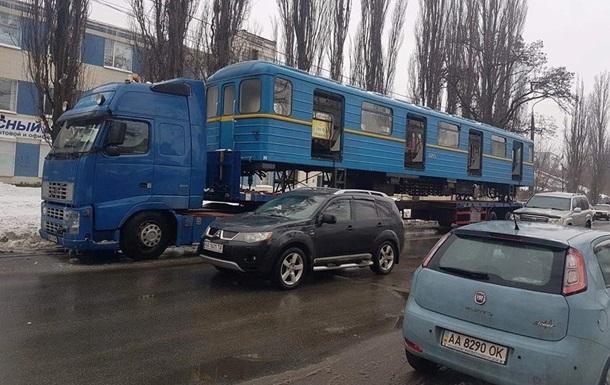 Транспортировка вагонов