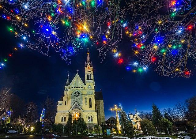 Костел Воздвижения Святого Креста. Фастов, Киевская область © Роман Наумов