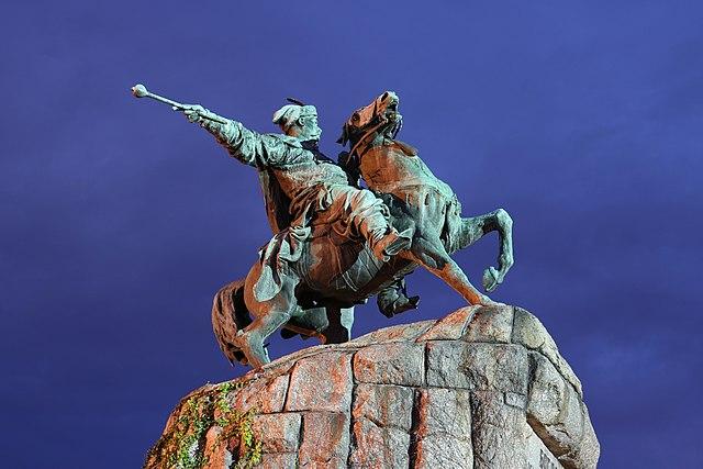 Памятник Богдану Хмельницкому, Киев. Автор фото - George Chernilevsky