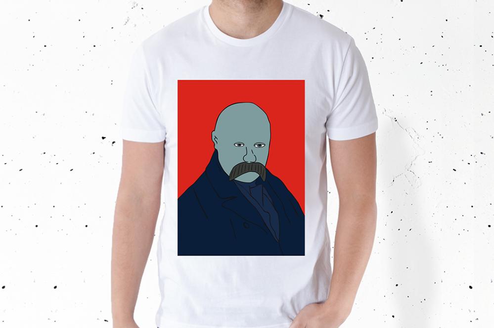 В продаже появились футболки со скандальным изображением Шевченко