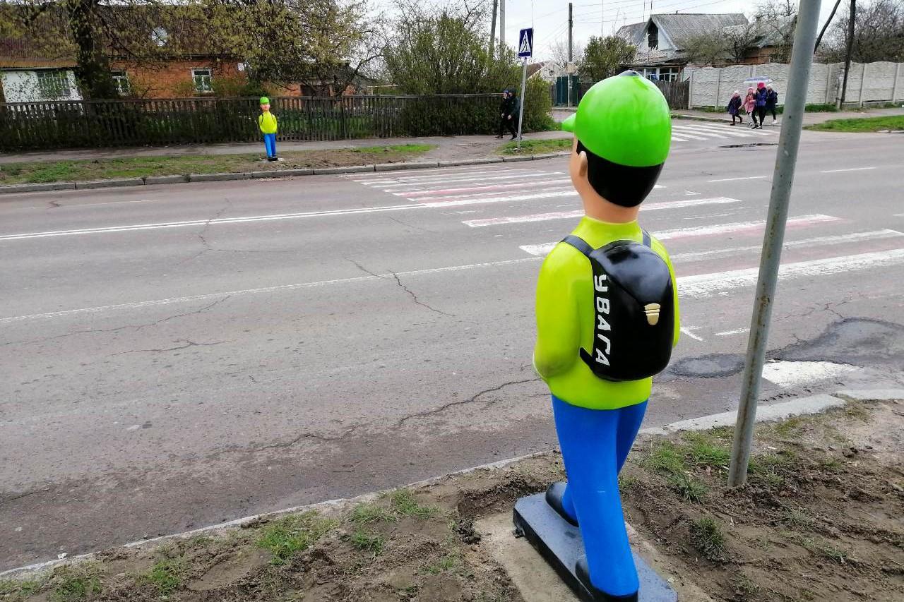 На столичных пешеходных переходах появятся манекены