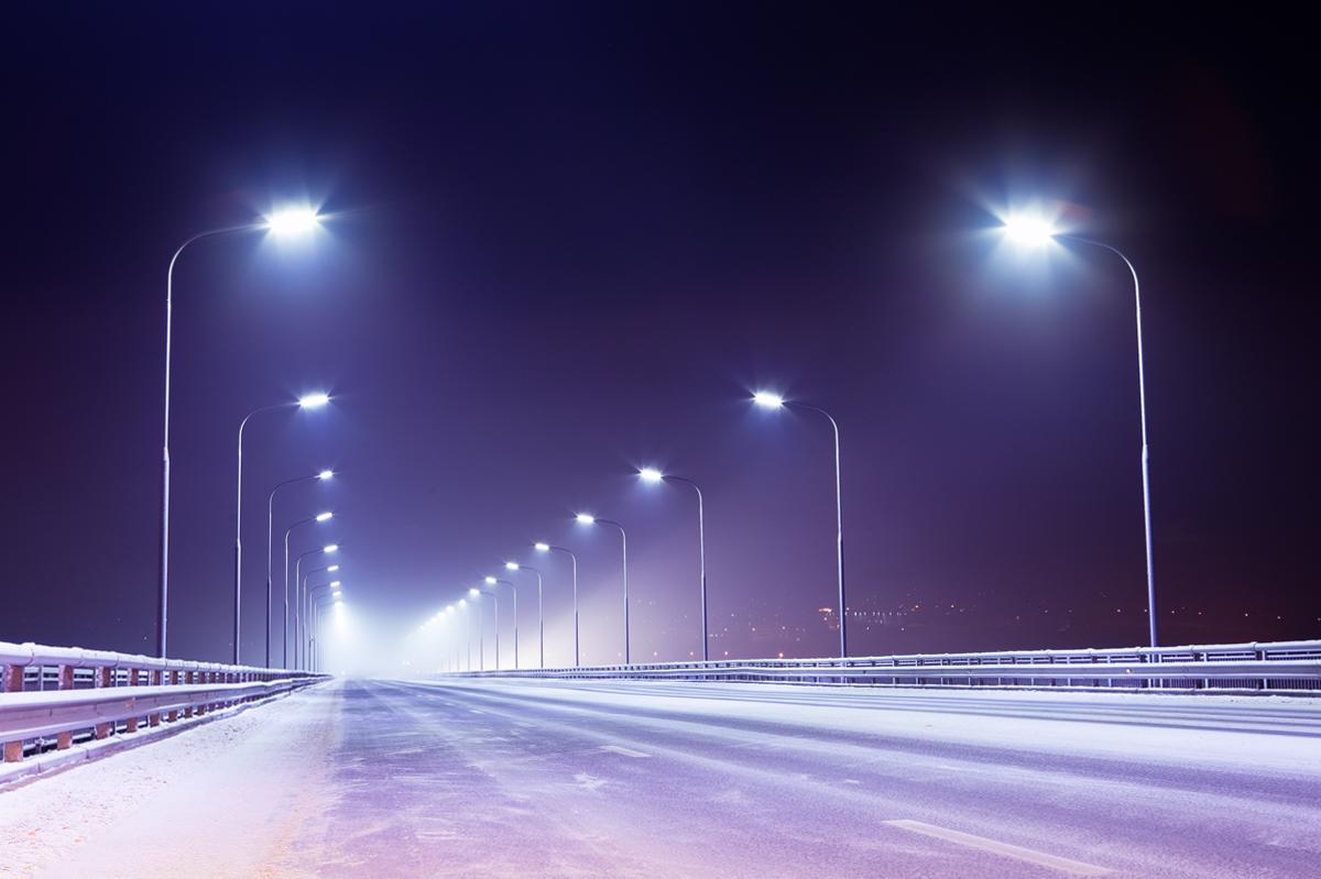 На 120 киевских улицах заменят уличное освещение на современное