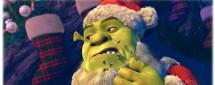 Шрэк мороз, зеленый нос