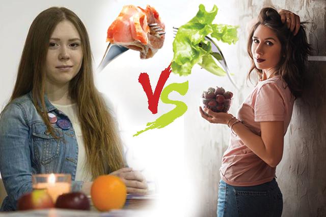 Баттл месяца: веган и мясоед отвечают на вопросы друг друга