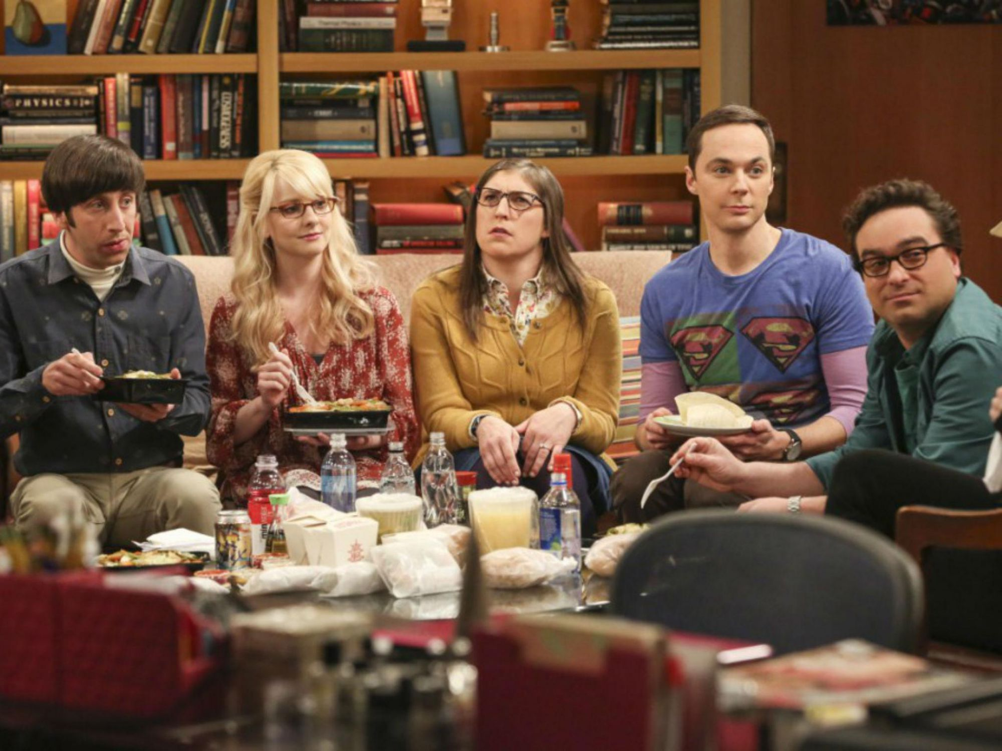 burning series the big bang theory englisch