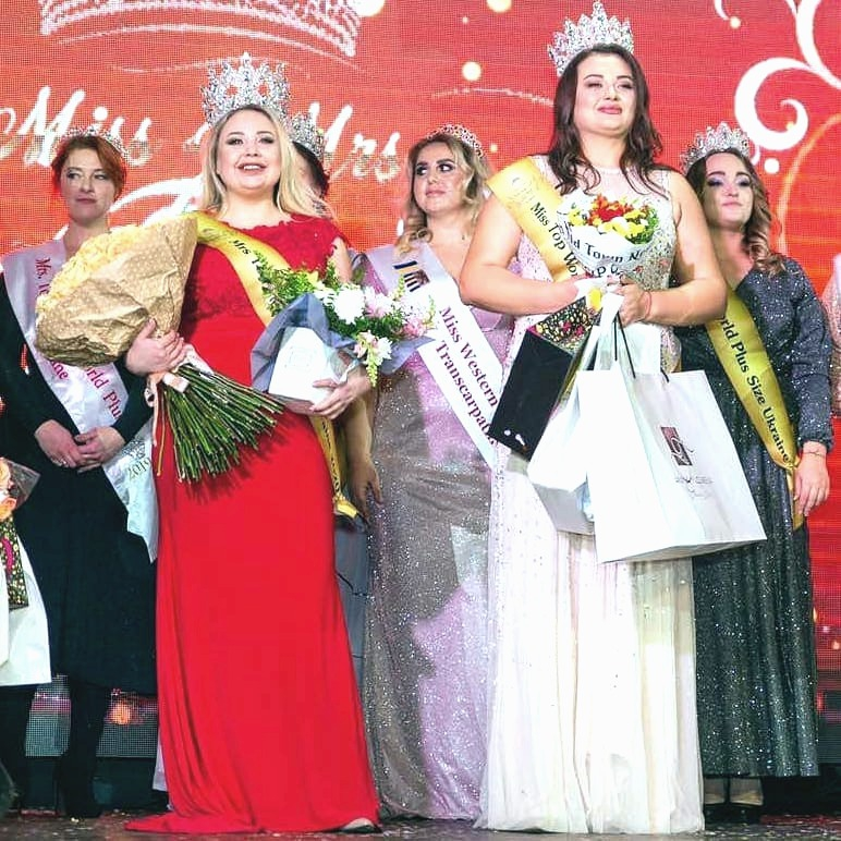 Miss/Mrs Top World Plus Size Ukraine 2020