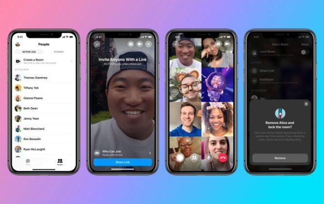 Facebook представил сервис для видеоконференций