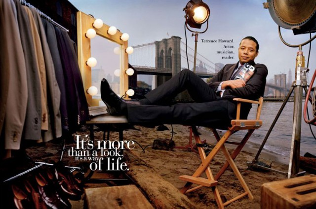 Актер и музыкант Теренс Ховард (Terrence Howard) / GQ