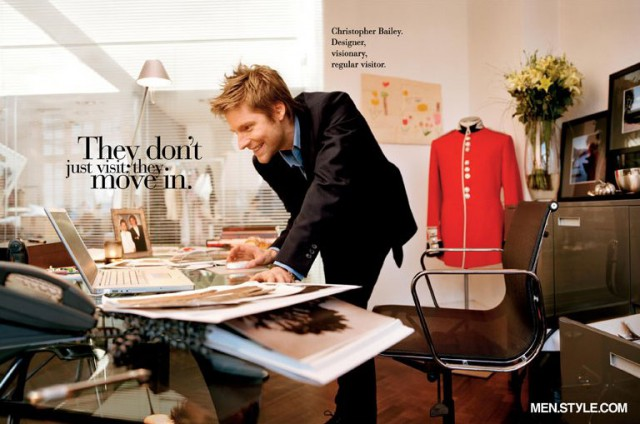 Креативный директор Burberry и провидец Кристофер Бэйли (Christopher Bailey) / Men.Style.com