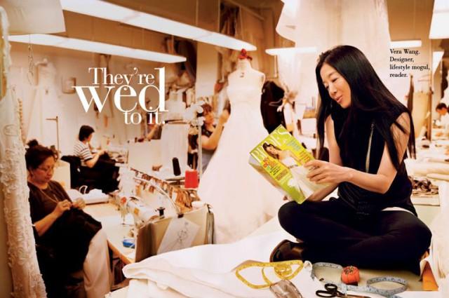 Знаменитый дизайнер свадебных нарядов и специалистка по lifestyle Вера Вонг (Vera Wang) / Brides