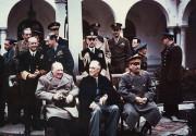 В Сочи открылся памятник Черчиллю, Сталину и Рузвельту