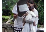 Первые снимки четырехмесячной дочери Хелли Берри