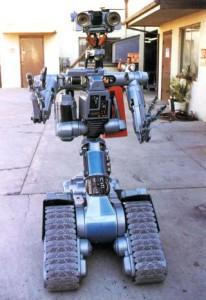 """Робот из фильма """"Короткое замыкание"""""""