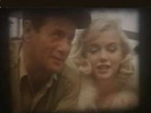 Кларк Гейбл и Мерилин Монро. Кадр выставленной на аукцион видеозаписи.