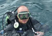 На съемках «Случайной записи» Стычкин научился нырять с аквалангом