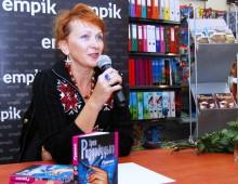 Ірен Роздобудько на зустрічі з читачами в empik