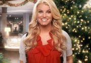 Джессика Симпсон в праздничной рекламе Macy's