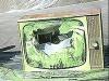 Львовяне разбили телевизор в знак протеста
