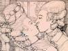 Эротические рисунки Константина Сомова продали за 1 миллион 179 тысяч фунтов