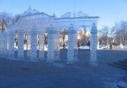 В Киеве откроют выставку ледяных и снежных фигур