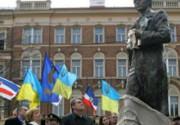 Ющенко открыл памятник Тарасу Шевченко в Праге