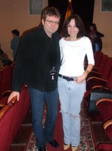 Александр Серый и Настя Маркова