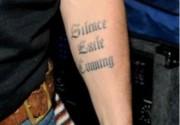 Джонни Депп обзавелся новой татуировкой. Фото