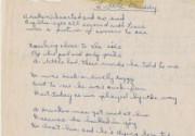 На аукцион выставили рукопись детского стихотворения Боба Дилана